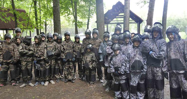 Пэйнтбольный парк Рубикон Уфа